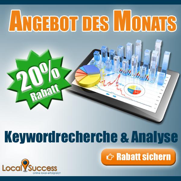 Keywordrecherche und -analyse
