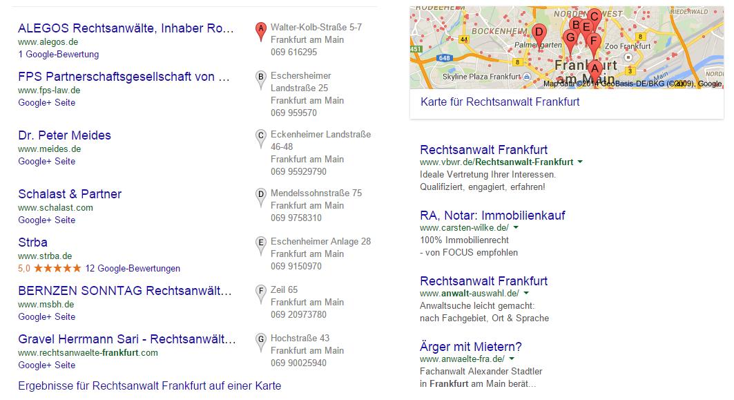 7 Pack Rechtsanwalt Frankfurt