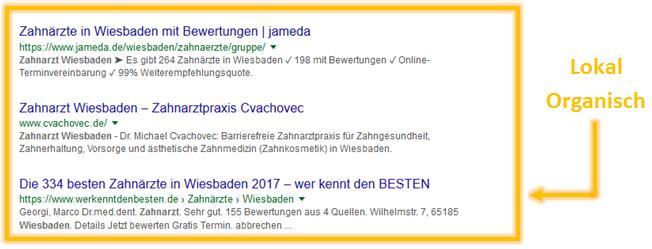 organische ergebnisse google wiesbaden